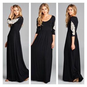Dresses & Skirts - Black Maxi Dress